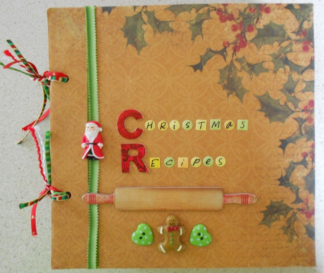 Christmas Recipe Scrapbook