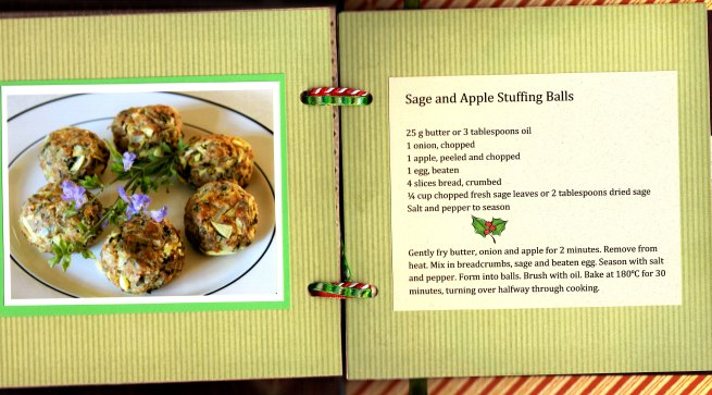 Sage and Apple Stuffing Balls