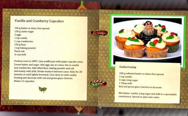 Vanilla & Cranberry Cupcakes