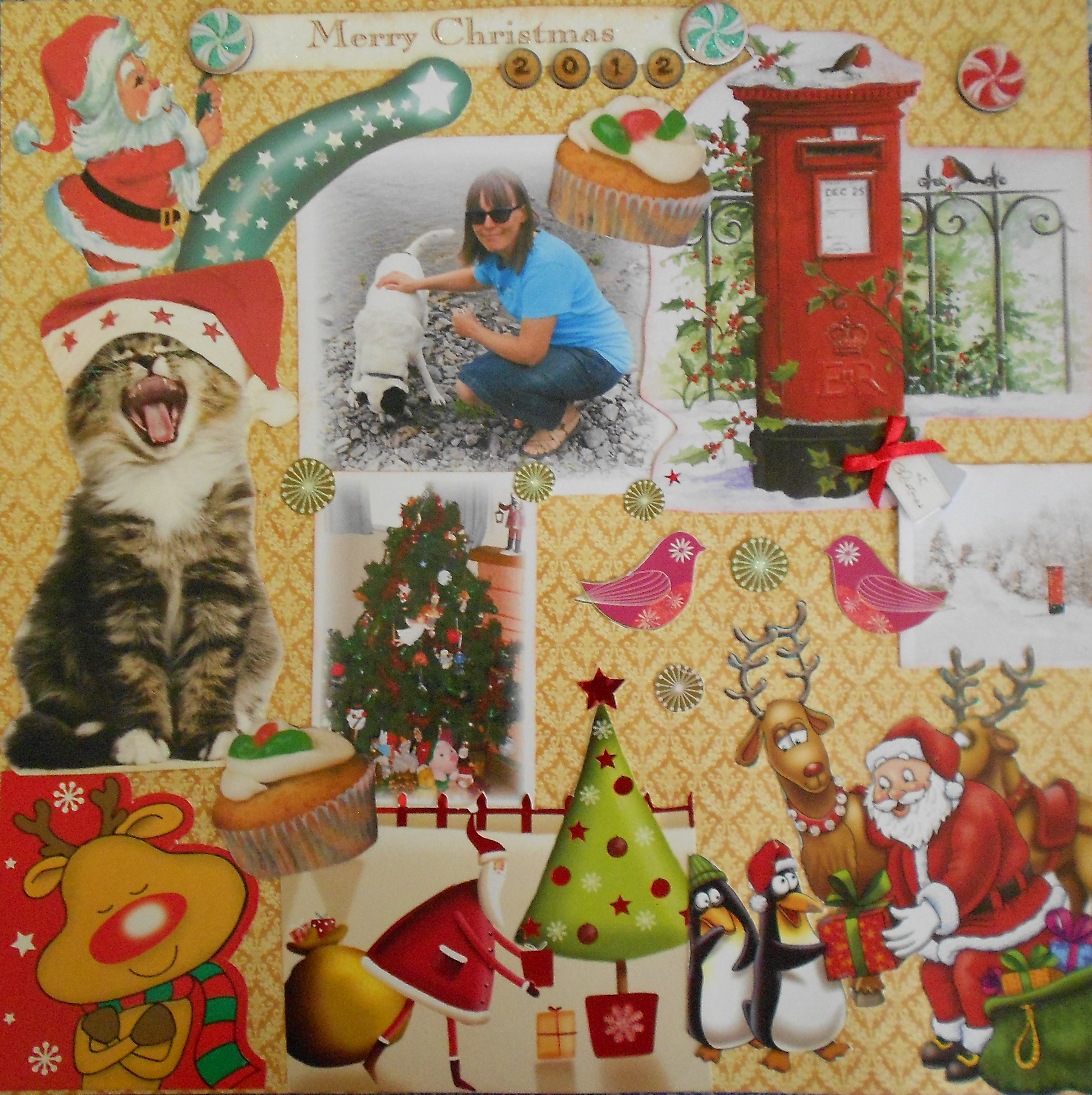 Recycling Christmas Cards – Kristah Price