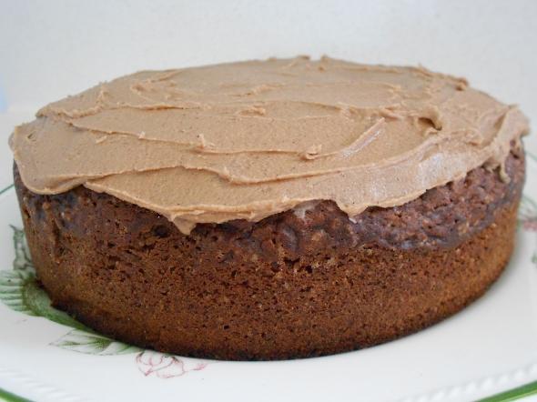 Red velvet beetroot cake