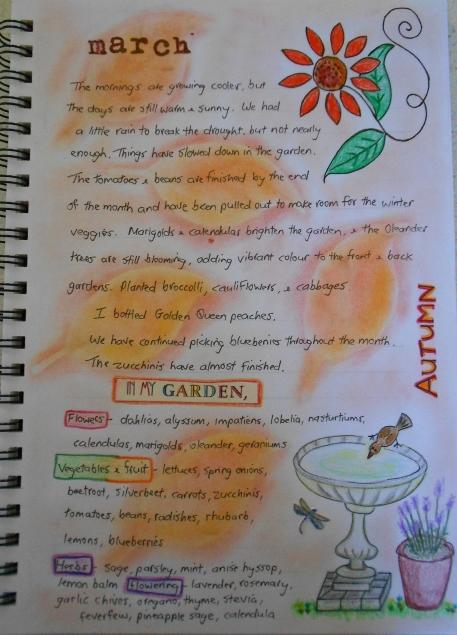 Garden Journal March