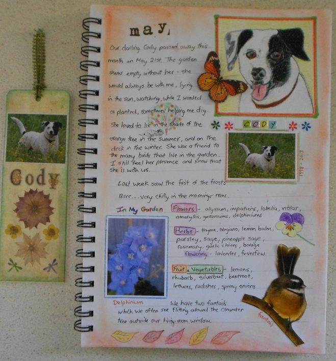 Garden journal-May
