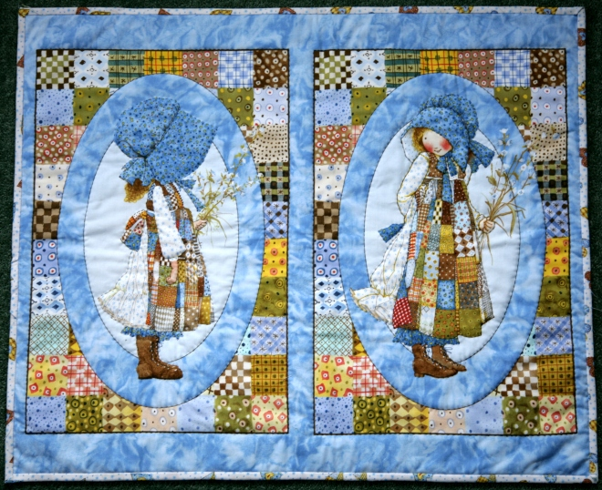 Holly Hobbie quilt