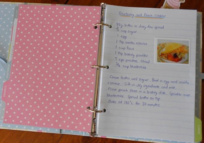 recipe folder 2