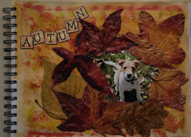 Autumn Journal Page