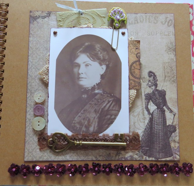 Heritage scrapbook album