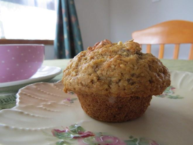 Banana Oatmeal Muffin